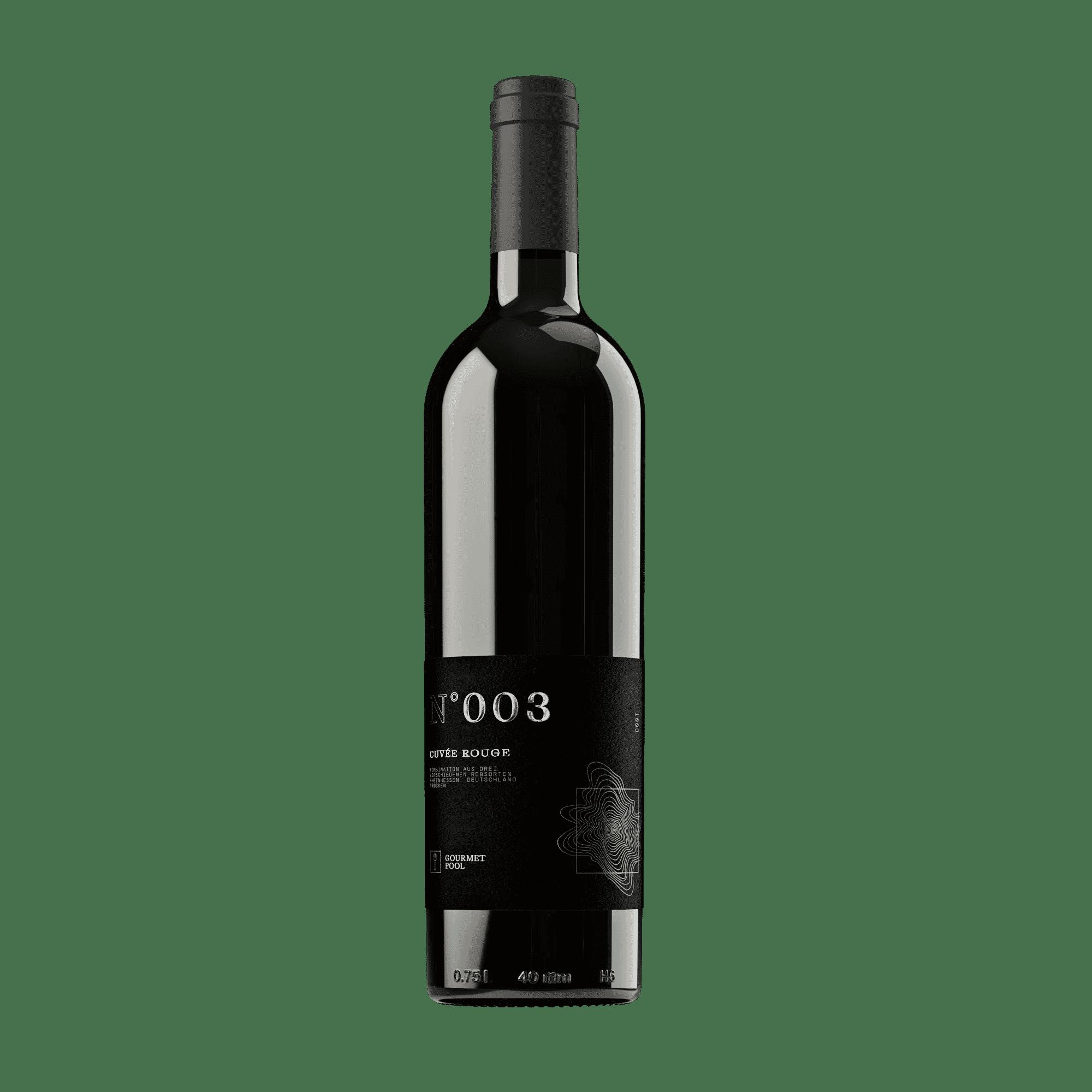 N°003 Cuvée Rouge