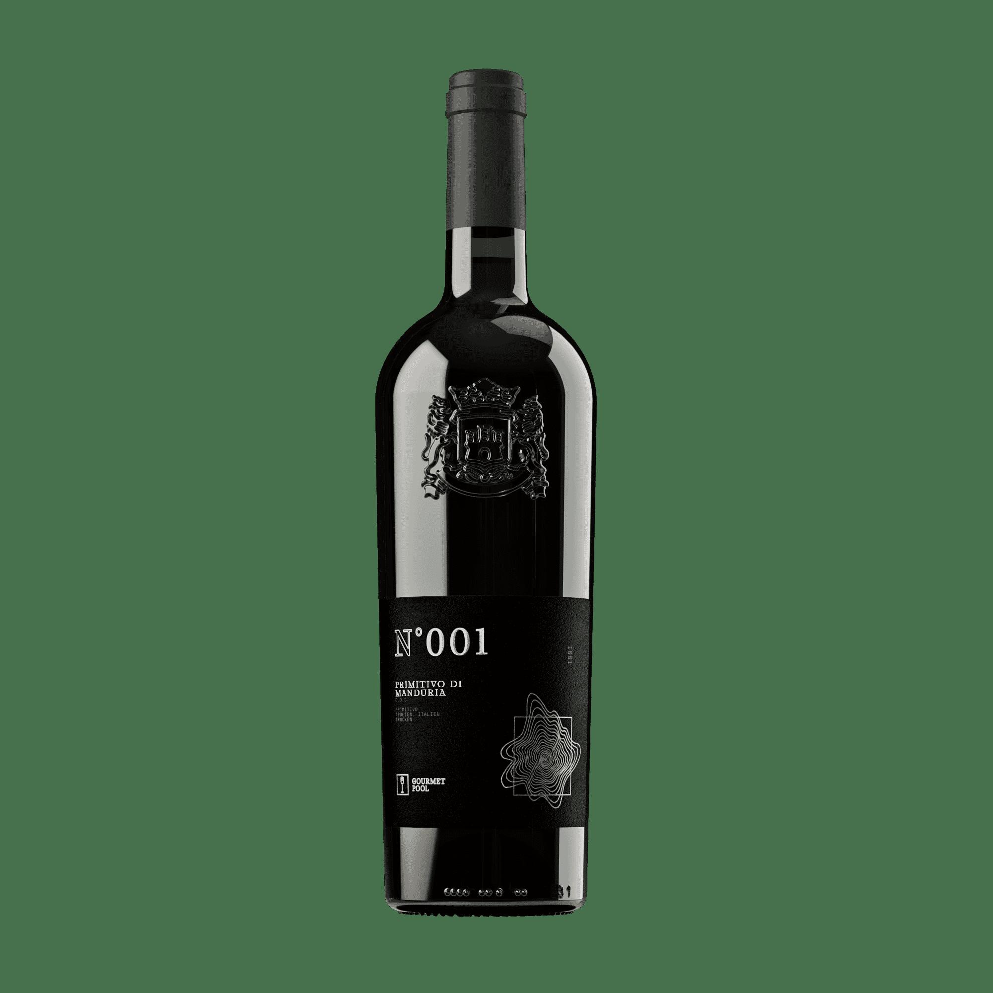 GourmetPool N001 Primitivo Vorderseite